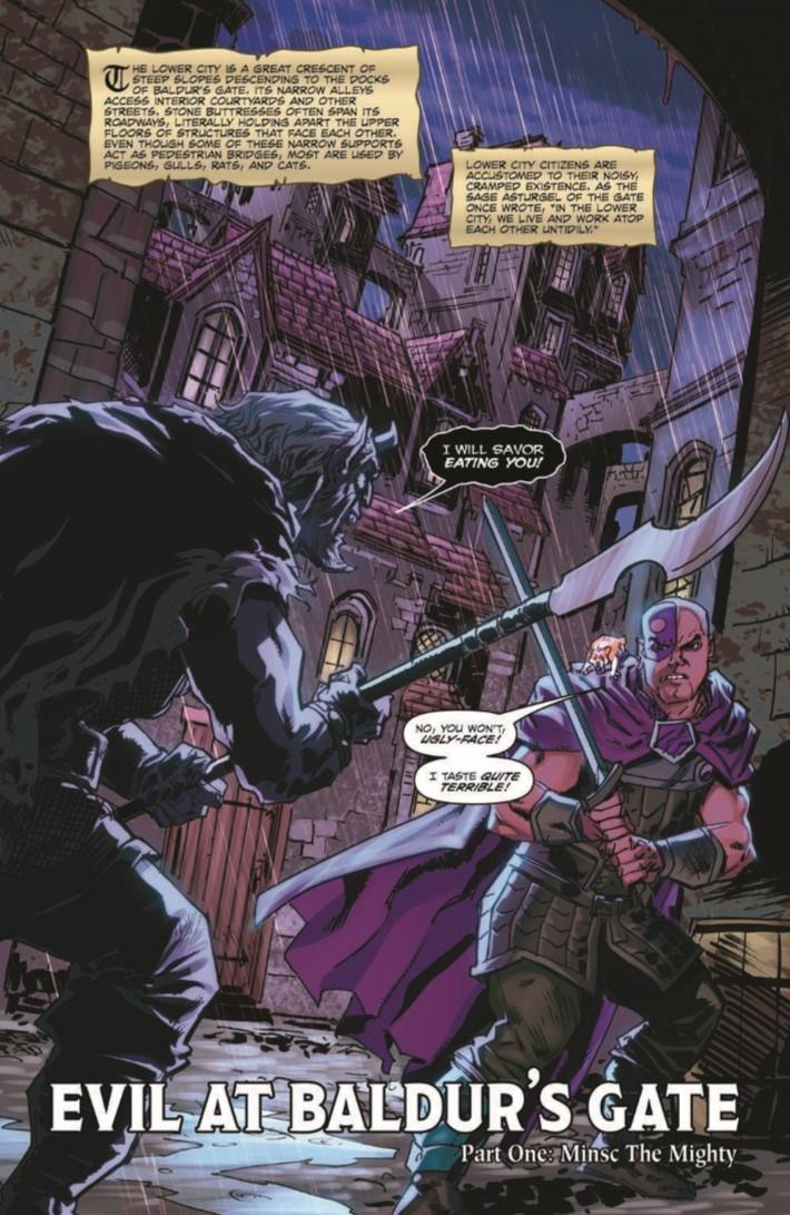 D&D_Baldur_01-pr-3 ComicList Previews: DUNGEONS AND DRAGONS EVIL AT BALDUR'S GATE #1