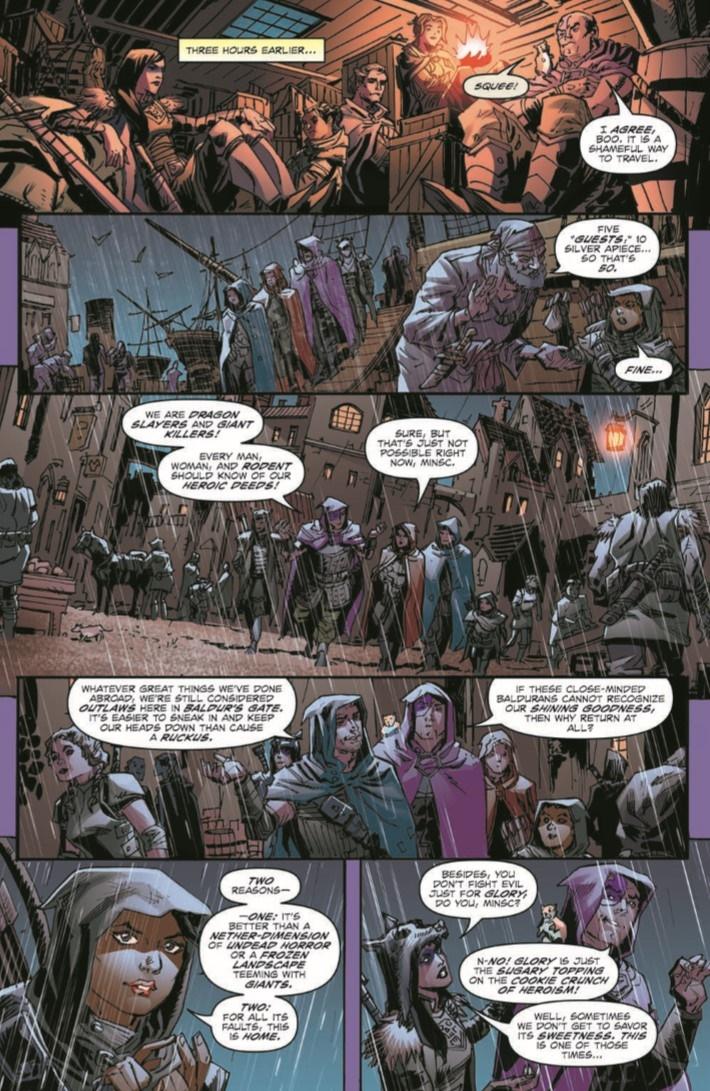 D&D_Baldur_01-pr-5 ComicList Previews: DUNGEONS AND DRAGONS EVIL AT BALDUR'S GATE #1