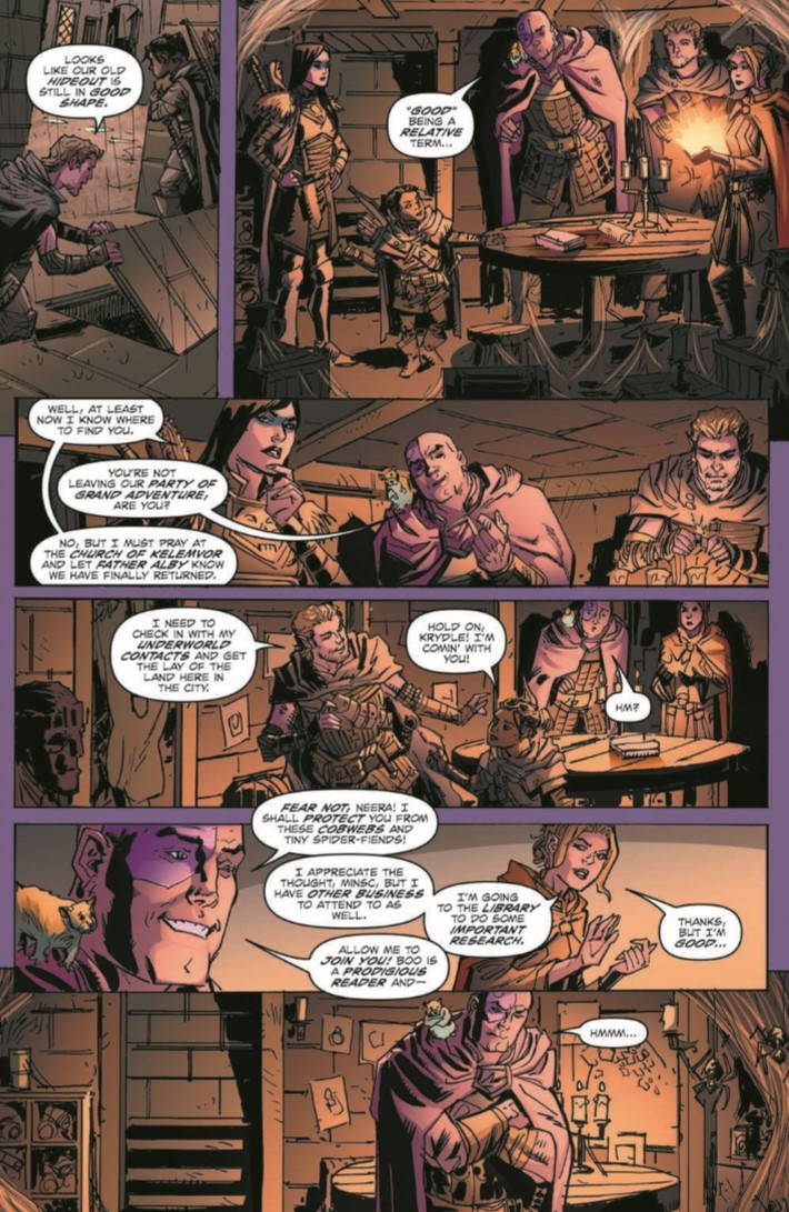D&D_Baldur_01-pr-6 ComicList Previews: DUNGEONS AND DRAGONS EVIL AT BALDUR'S GATE #1