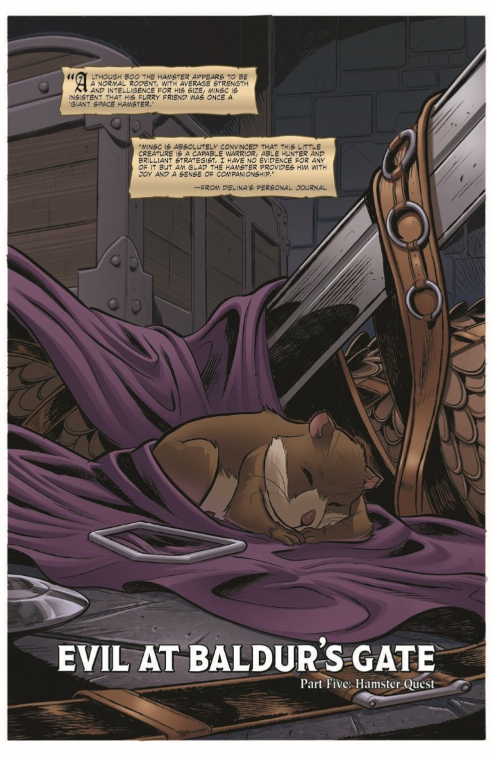 D&D_Evil_At_Baldurs_Gate_05-pr-3 ComicList Previews: DUNGEONS AND DRAGONS EVIL AT BALDUR'S GATE #5