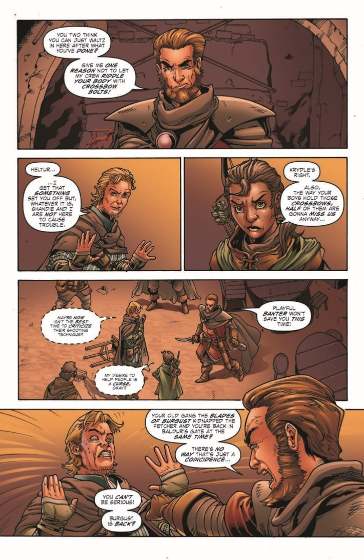 D&D_Evil_at_Baldurs_Gate_02-pr-4 ComicList Previews: DUNGEONS AND DRAGONS EVIL AT BALDUR'S GATE #2