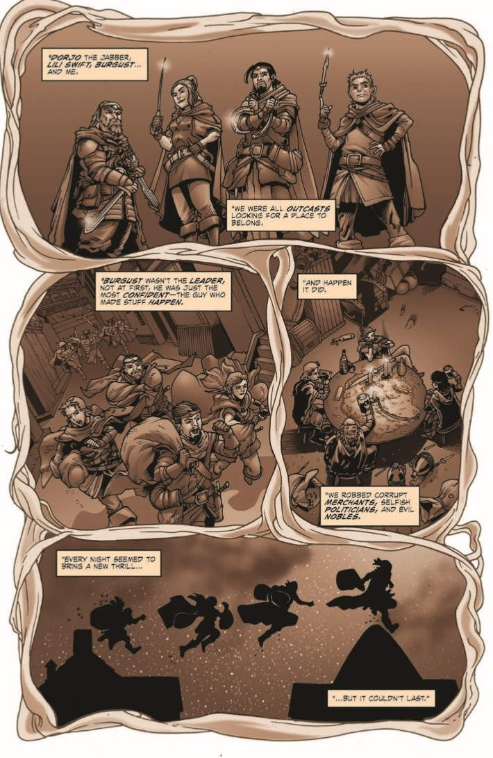 D&D_Evil_at_Baldurs_Gate_02-pr-7 ComicList Previews: DUNGEONS AND DRAGONS EVIL AT BALDUR'S GATE #2