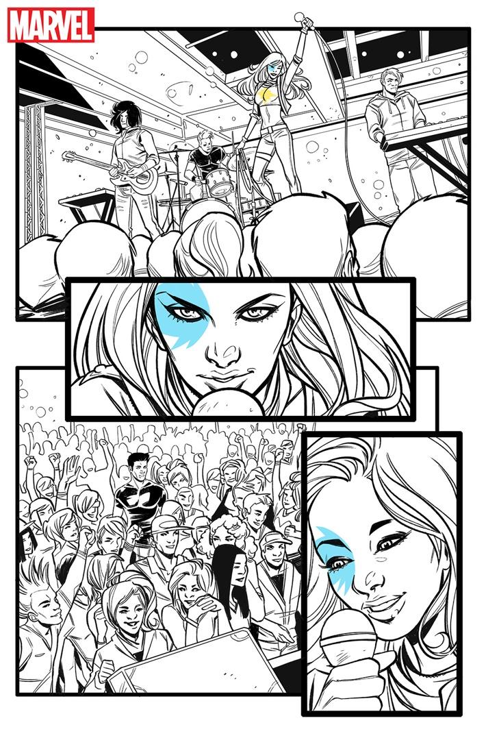DAZZLER_002 ComicList Previews: DAZZLER X SONG #1