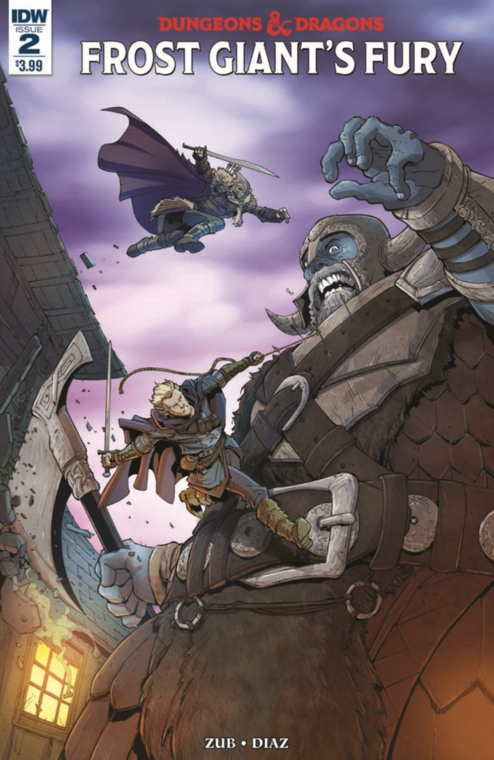 DD_FGF_02-pr-1 ComicList Preview: DUNGEONS AND DRAGONS FROST GIANT'S FURY #2