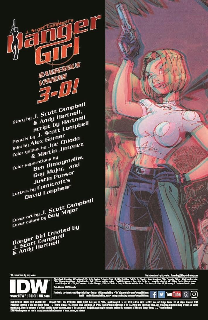 Danger_Girl_3D-pr-2 ComicList Previews: DANGER GIRL DANGEROUS VISIONS 3-D #1