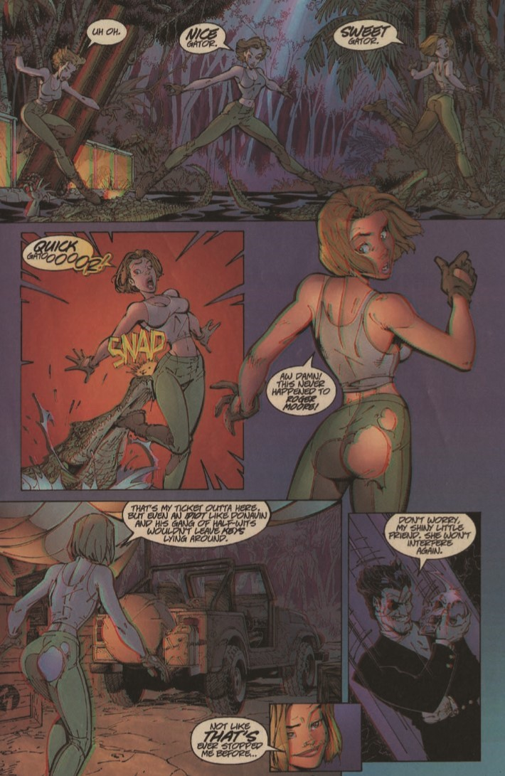 Danger_Girl_3D-pr-7 ComicList Previews: DANGER GIRL DANGEROUS VISIONS 3-D #1