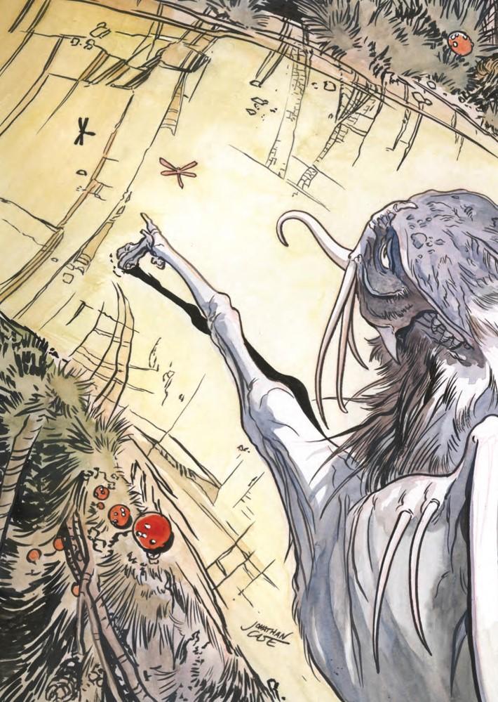 DarkCrystal_ArtistTribute_HC_Press_12 ComicList Previews: JIM HENSON'S THE DARK CRYSTAL ARTIST TRIBUTE HC