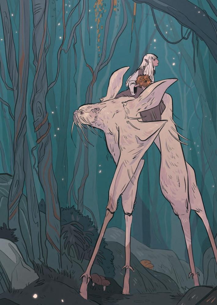 DarkCrystal_ArtistTribute_HC_Press_16 ComicList Previews: JIM HENSON'S THE DARK CRYSTAL ARTIST TRIBUTE HC