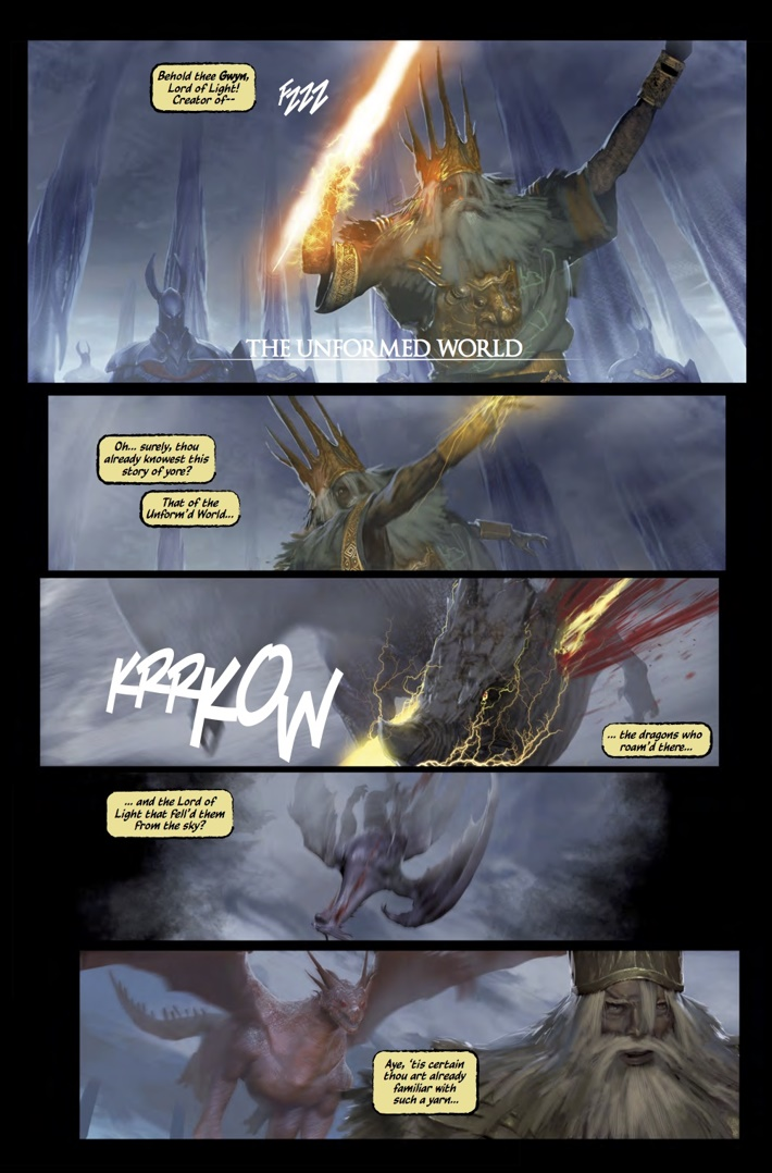 Dark_Souls_Age_of_Fire_1_Pg1 ComicList Previews: DARK SOULS THE AGE OF FIRE #1