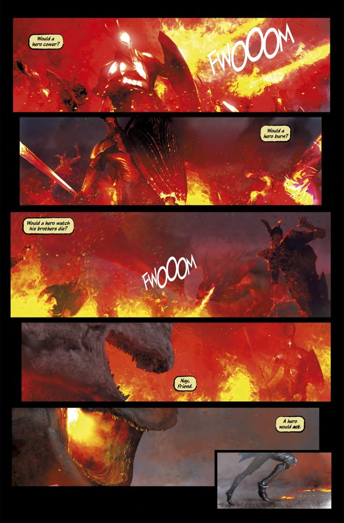 Dark_Souls_Age_of_Fire_1_Pg3 ComicList Previews: DARK SOULS THE AGE OF FIRE #1