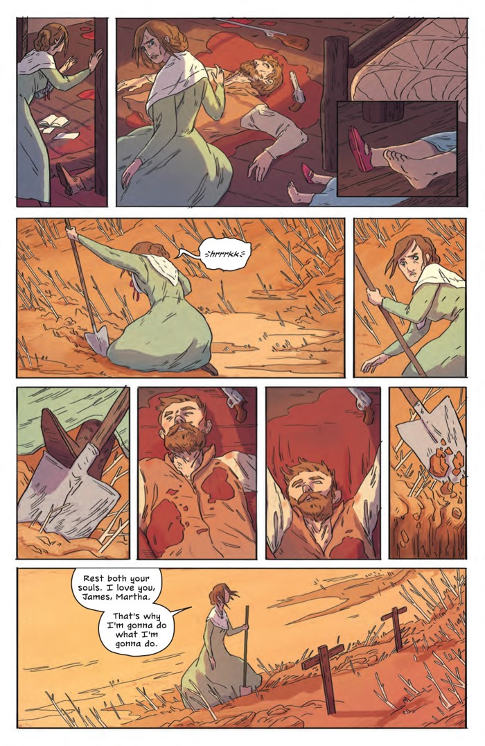 DeathBeDamned_SC_PRESS_12 ComicList Previews: DEATH BE DAMNED VOLUME 1 TP
