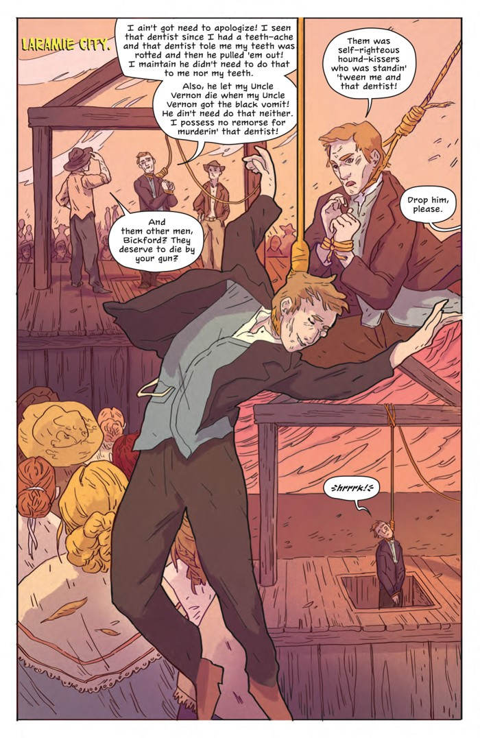 DeathBeDamned_SC_PRESS_16 ComicList Previews: DEATH BE DAMNED VOLUME 1 TP