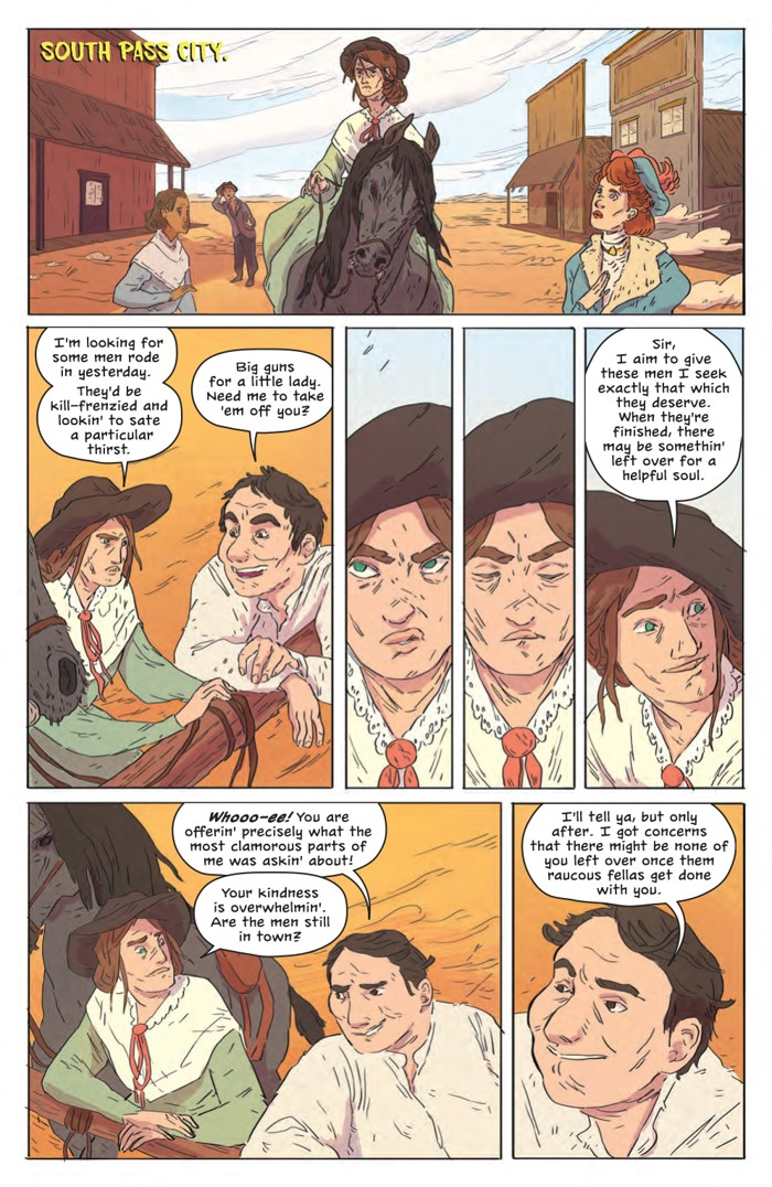 DeathBeDamned_SC_PRESS_17 ComicList Previews: DEATH BE DAMNED VOLUME 1 TP
