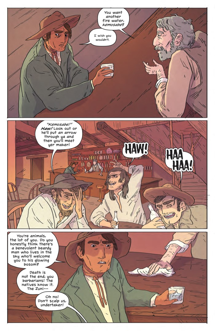 DeathBeDamned_SC_PRESS_18 ComicList Previews: DEATH BE DAMNED VOLUME 1 TP