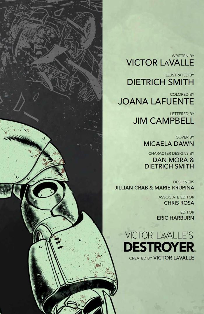 Destroyer_SC_PRESS_7 ComicList Previews: VICTOR LAVALLE'S DESTROYER TP