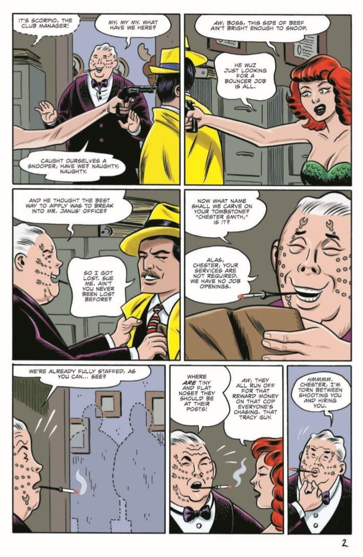 Dick_Tracy_Dead_Alive_04-pr-4 ComicList Previews: DICK TRACY DEAD OR ALIVE #4