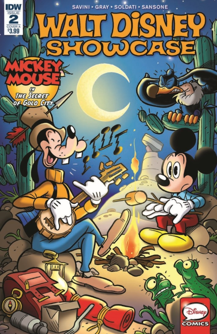 DisneyShowcase_02-pr-1 ComicList Previews: WALT DISNEY SHOWCASE #2 (MICKEY MOUSE)