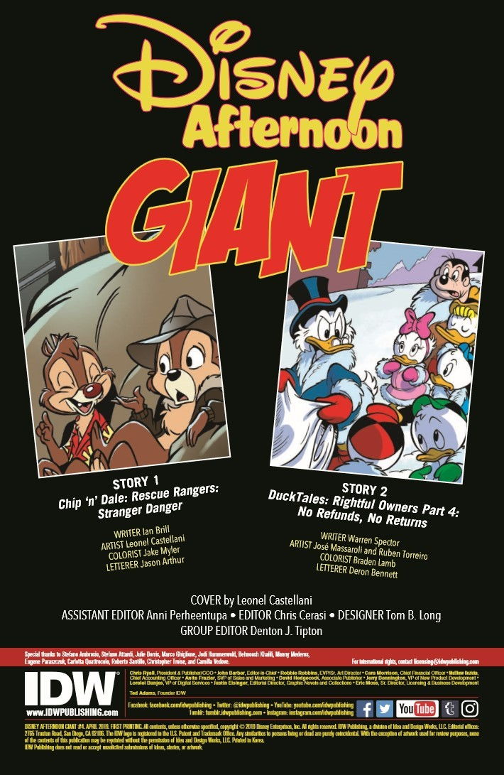 Disney_Afternoon_Giant_04-pr-2 ComicList Previews: DISNEY AFTERNOON GIANT #4