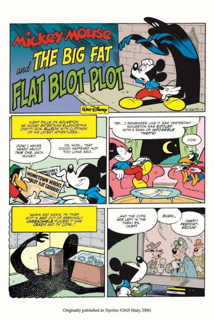 Donald&Mickey_BigFlatBlotPlot-pr-4 ComicList Previews: DONALD AND MICKEY THE BIG FAT FLAT BLOT PLOT TP
