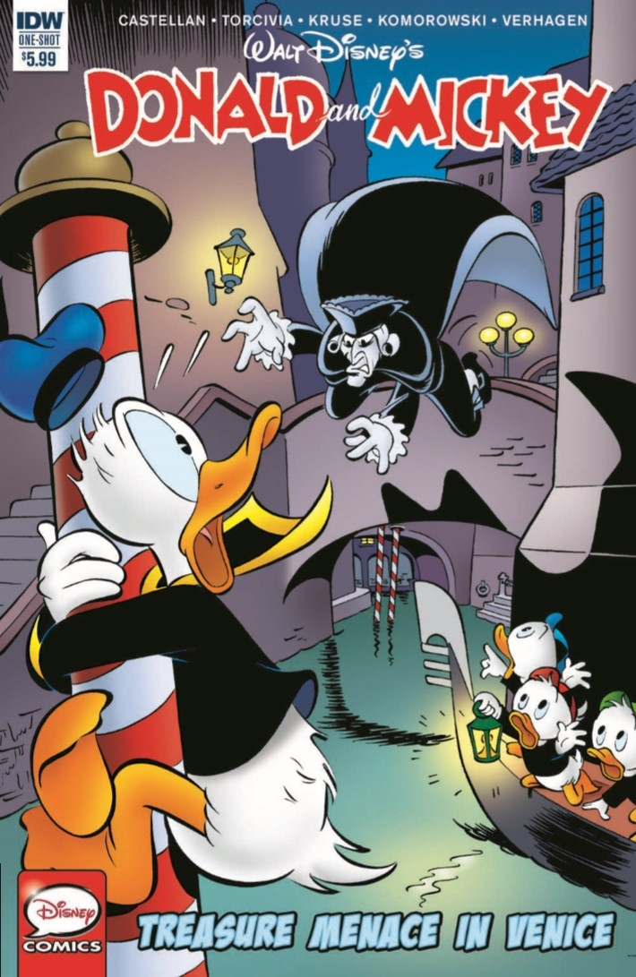 Donald&Mickey_Treasure_Menace_In_Venice-pr-1 ComicList Previews: DONALD AND MICKEY QUARTERLY #3 (TREASURE MENACE IN VENICE)
