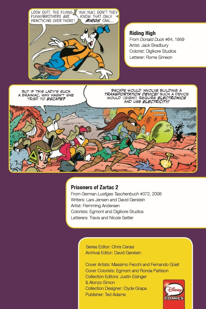 DonaldDuck_Nest-pr-3 ComicList Previews: DONALD DUCK NEST OF THE DEMONBIRDS TP