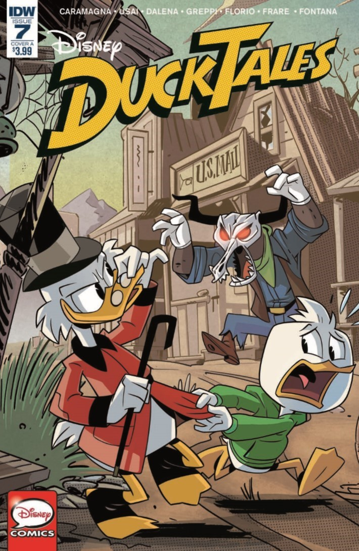 DuckTales_07-pr-1 ComicList Previews: DUCKTALES #7