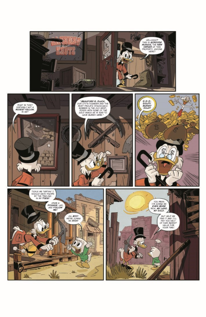 DuckTales_07-pr-5 ComicList Previews: DUCKTALES #7