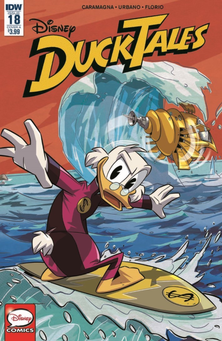 Ducktales_18-pr-1 ComicList Previews: DUCKTALES #18