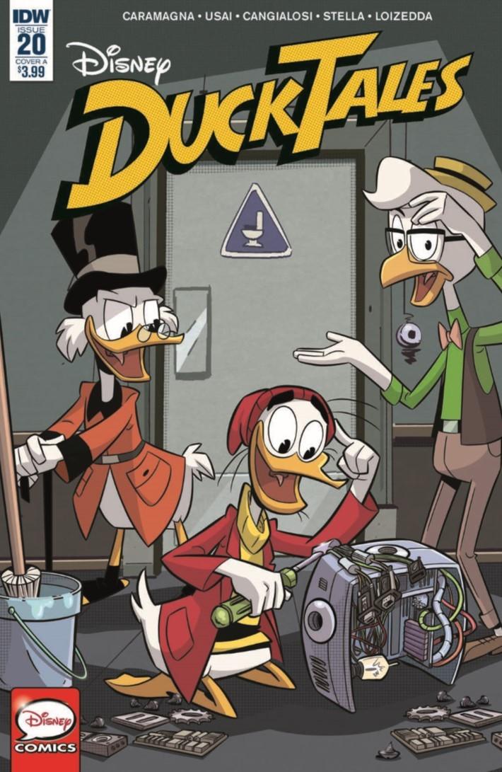 Ducktales_20-pr-1 ComicList Previews: DUCKTALES #20