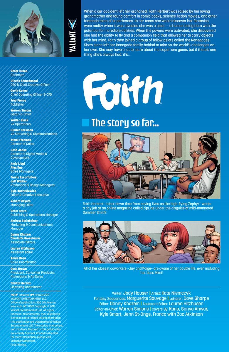 FAITH_009_001 ComicList Preview: FAITH #9
