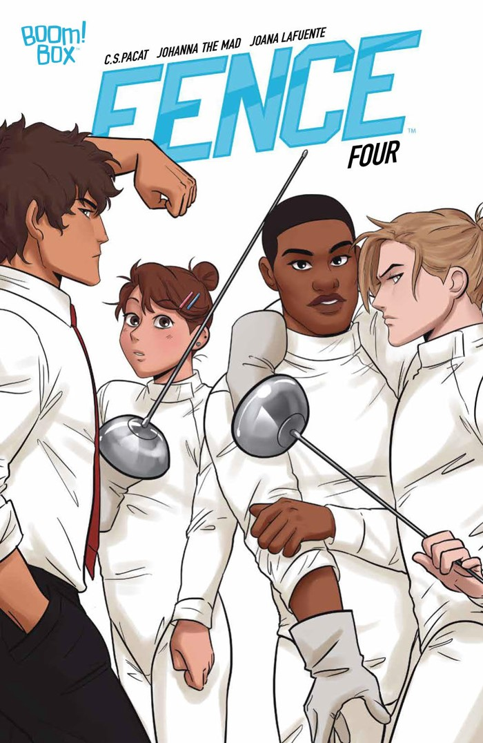 Fence_004_PRESS_1 ComicList Previews: FENCE #4