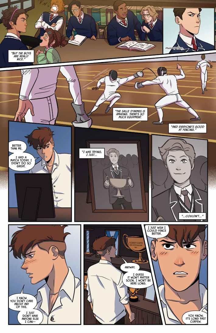 Fence_005_PRESS_4 ComicList Previews: FENCE #5