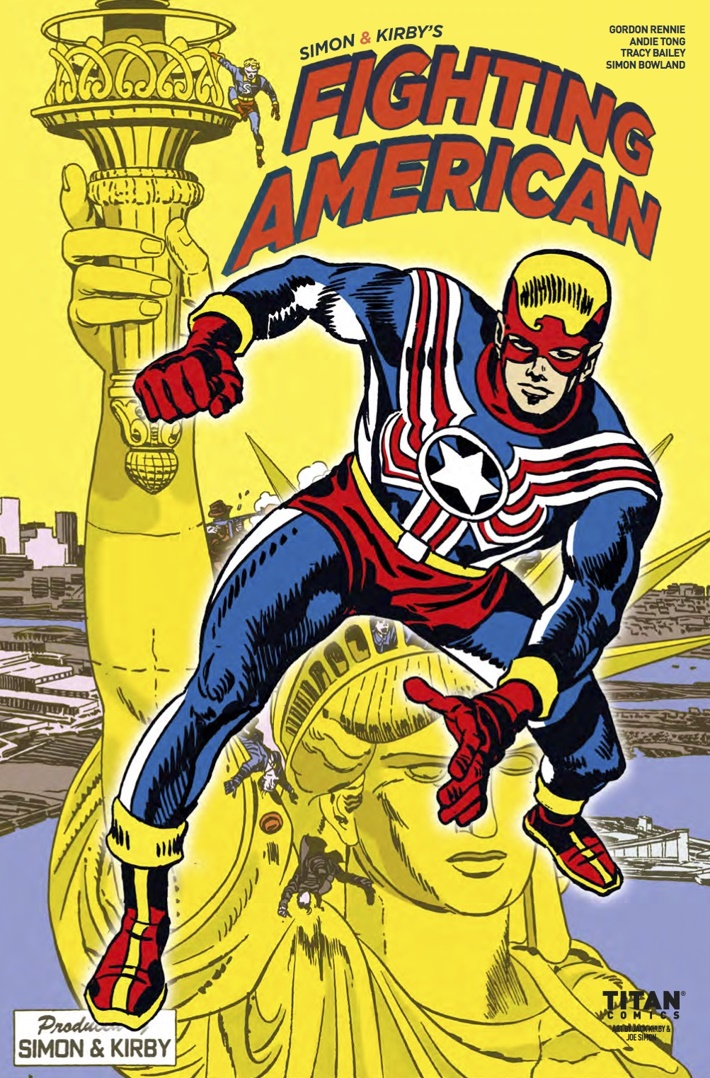 Fighting_American_2.3_CoverB ComicList Previews: FIGHTING AMERICAN THE TIES THAT BIND #3