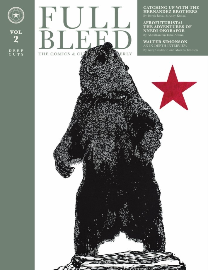 Full_Bleed_vol_02-pr-1 ComicList Previews: FULL BLEED THE COMICS AND CULTURE QUARTERLY VOLUME 2 DEEP CUTS HC