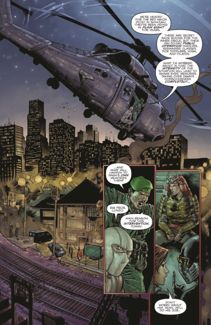 GIJoe_RAH_250-pr-3 ComicList Previews: G.I. JOE A REAL AMERICAN HERO #250