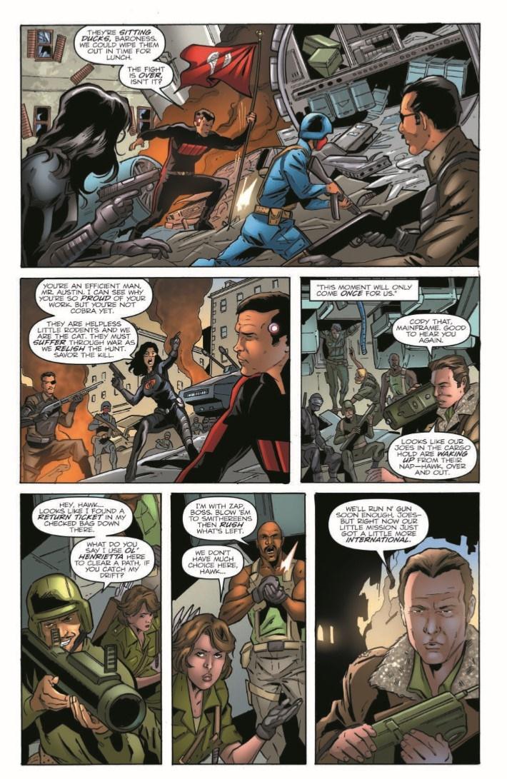 GIJoe_vs_6MilMan_02-pr-5 ComicList Previews: G.I. JOE A REAL AMERICAN HERO VS THE SIX MILLION DOLLAR MAN #2