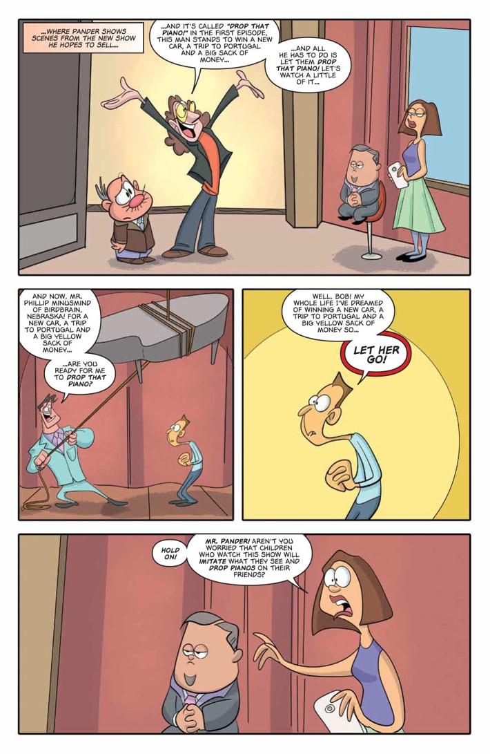 Garfield_2018TVorNotTV_PRESS_5 ComicList Previews: GARFIELD TV OR NOT TV #1