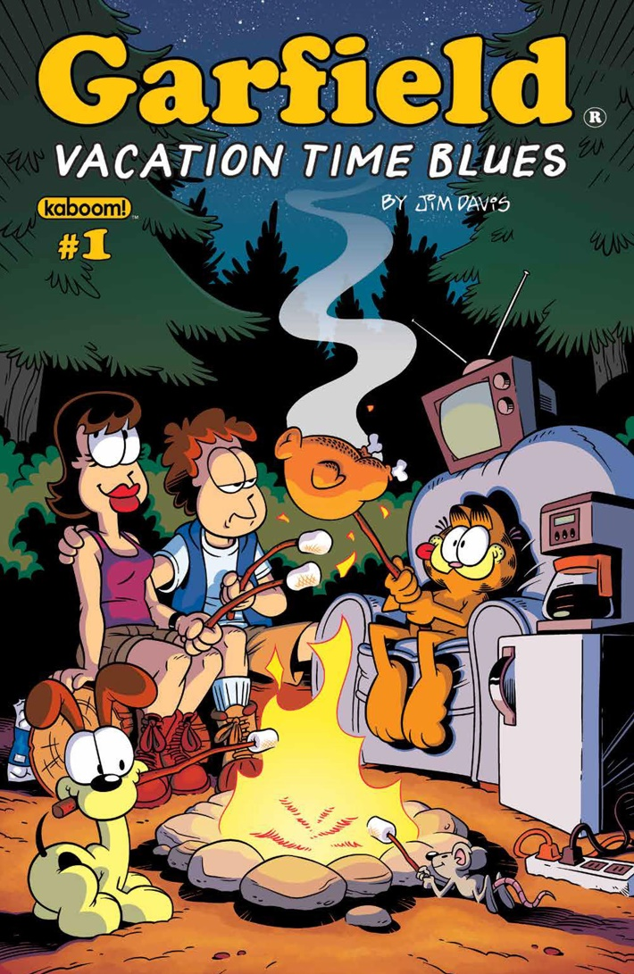 Garfield_2018VacationTimeBlues_PRESS_1 ComicList Previews: GARFIELD 2018 VACATION TIME BLUES #1