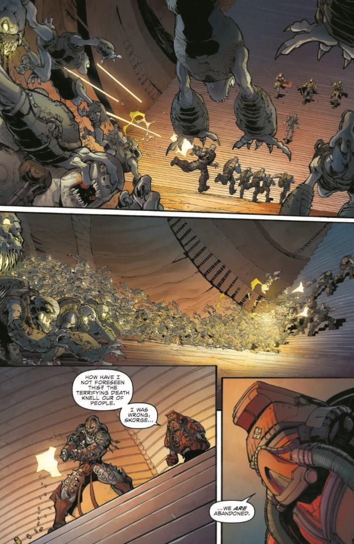 GearsofWar_03-pr-3 ComicList Previews: GEARS OF WAR THE RISE OF RAAM #3