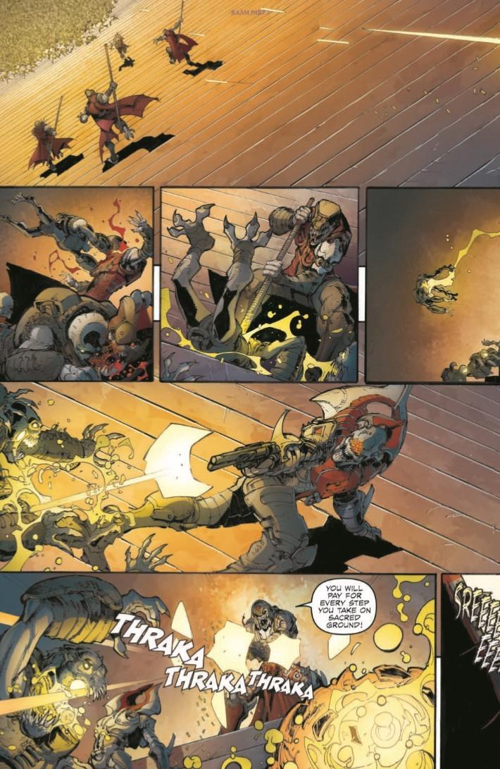 GearsofWar_03-pr-4 ComicList Previews: GEARS OF WAR THE RISE OF RAAM #3