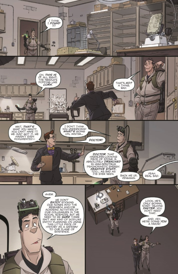 Ghostbusters_35th_Anniversary_Prime-pr-4 ComicList Previews: GHOSTBUSTERS 35TH ANNIVERSARY GHOSTBUSTERS #1