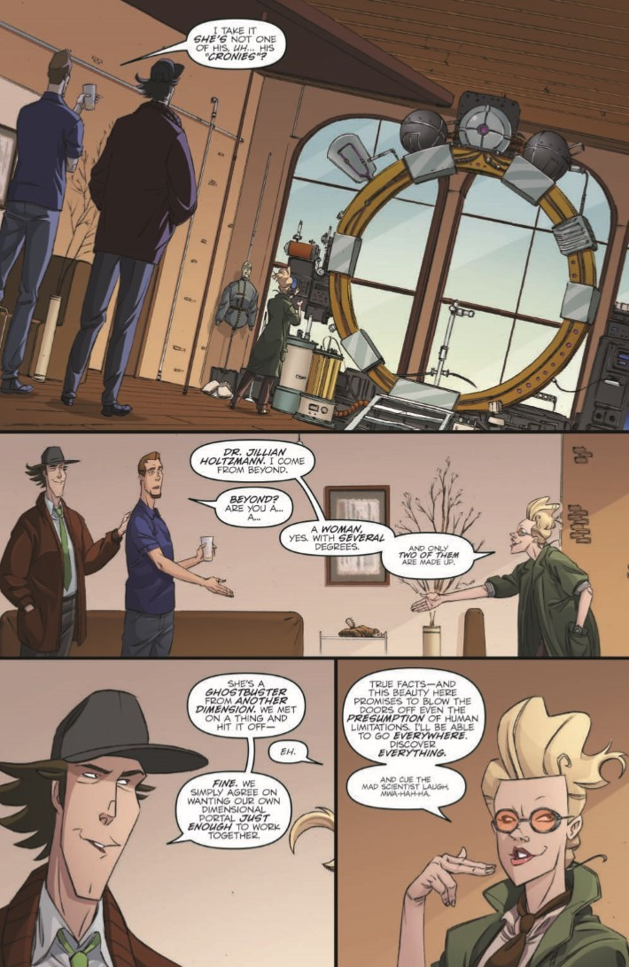 Ghostbusters_CrossingOver_01-pr-4 ComicList Previews: GHOSTBUSTERS CROSSING OVER #1
