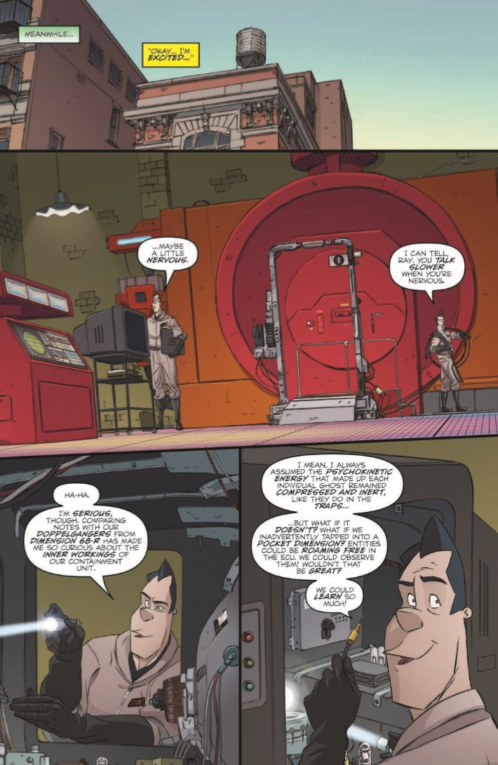 Ghostbusters_CrossingOver_01-pr-6 ComicList Previews: GHOSTBUSTERS CROSSING OVER #1