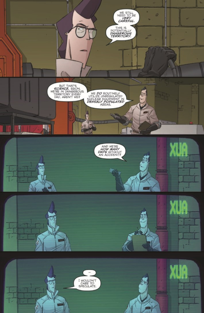 Ghostbusters_CrossingOver_01-pr-7 ComicList Previews: GHOSTBUSTERS CROSSING OVER #1