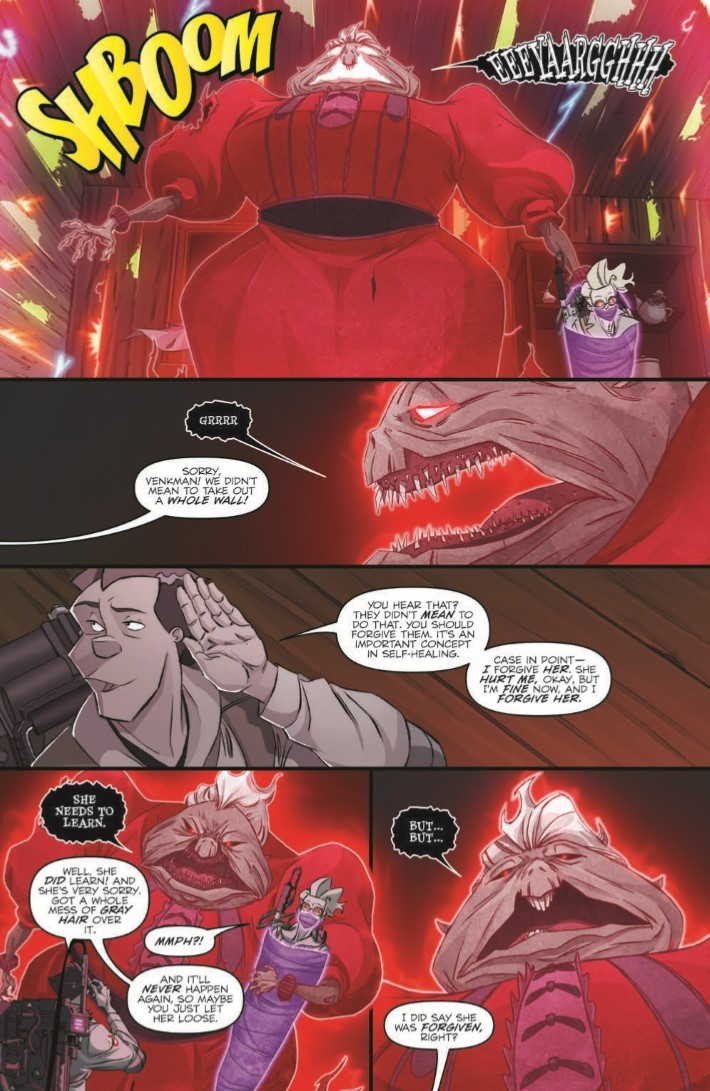 Ghostbusters_Crossing_Over_07-pr-4 ComicList Previews: GHOSTBUSTERS CROSSING OVER #7