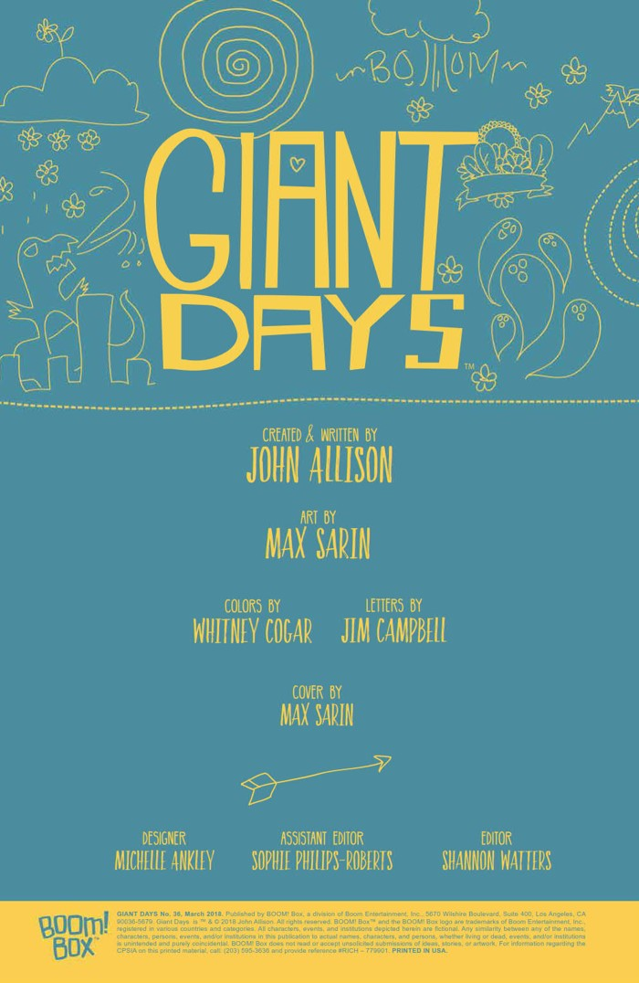 GiantDays_036_PRESS_2 ComicList Previews: GIANT DAYS #36