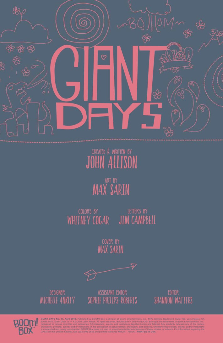 GiantDays_037_PRESS_2 ComicList Previews: GIANT DAYS #37