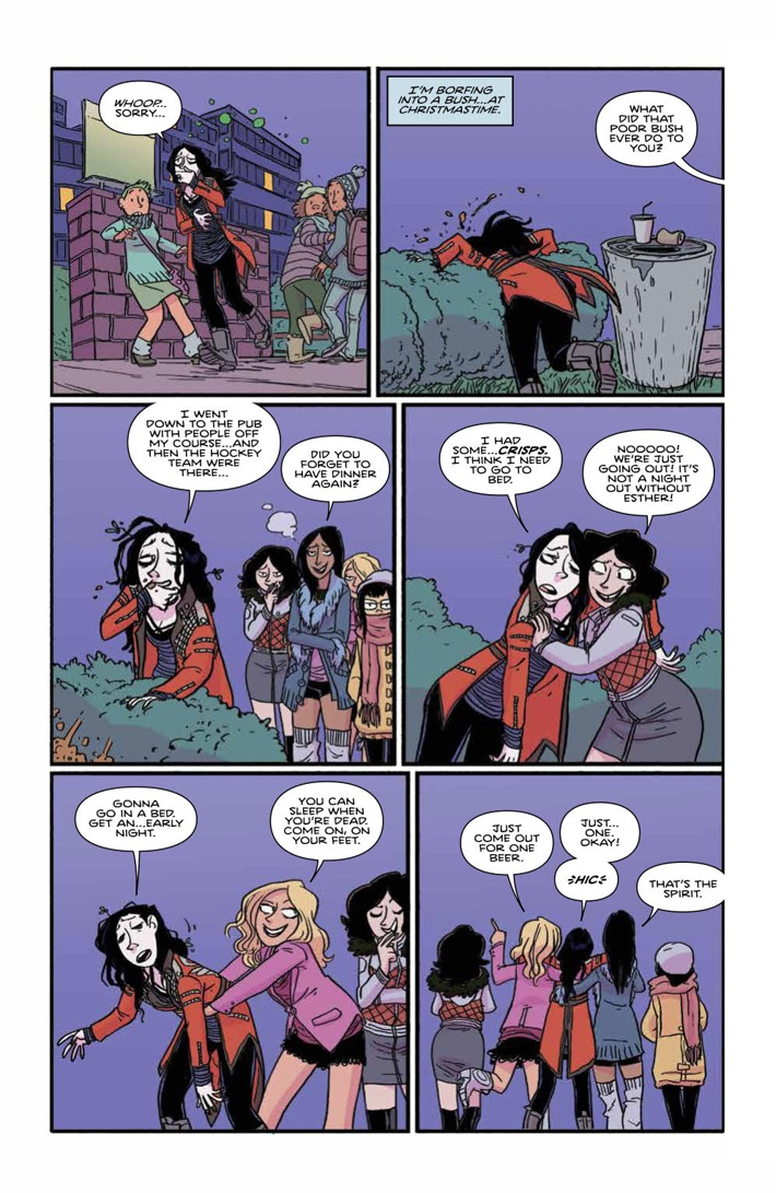 GiantDays_ExtraCredit_v1_SC_PRESS_14 ComicList Previews: GIANT DAYS EXTRA CREDIT VOLUME 1 TP