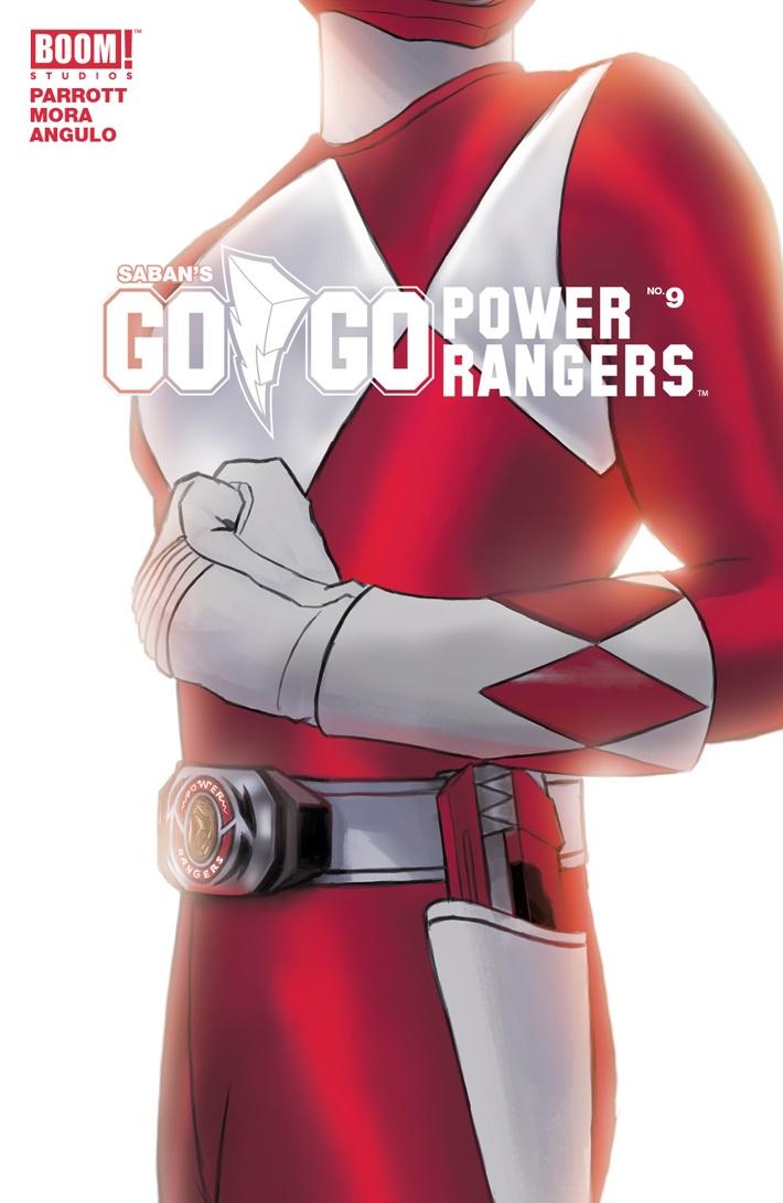GoGoPowerRangers_009_B_Intermix ComicList Previews: SABAN'S GO GO POWER RANGERS #9