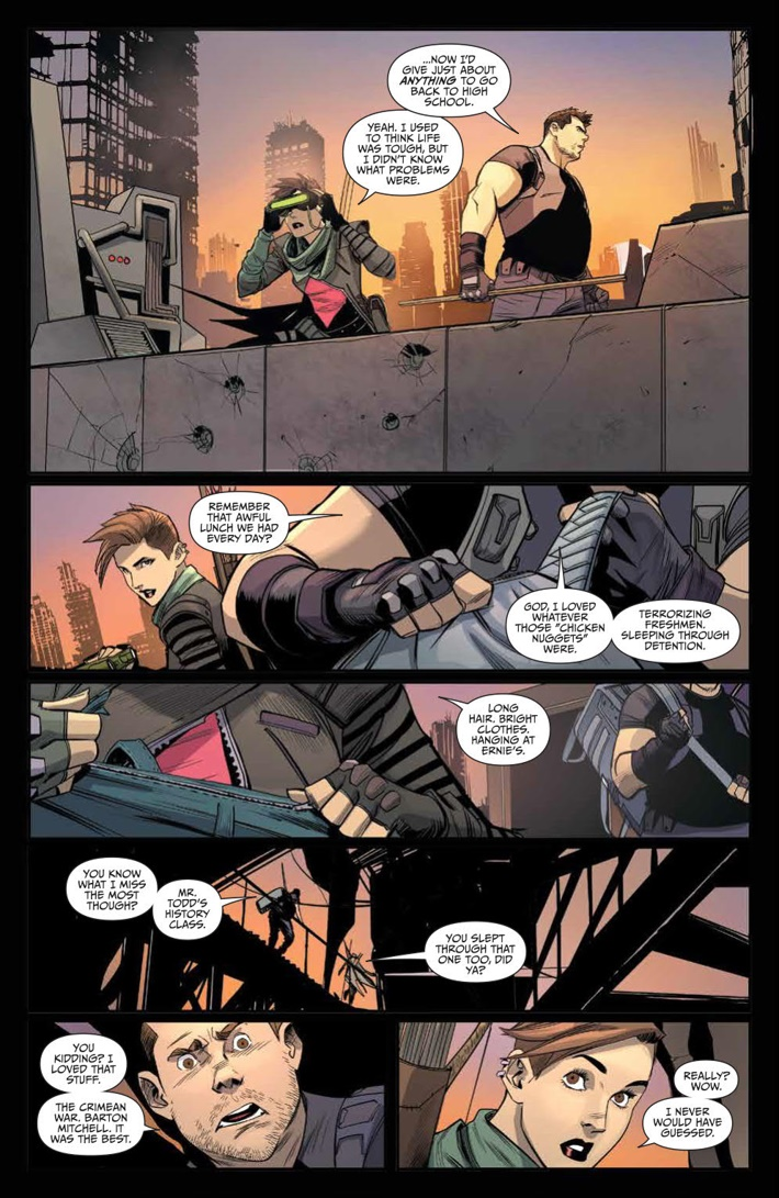 GoGoPowerRangers_010_PRESS_4 ComicList Previews: SABAN'S GO GO POWER RANGERS #10